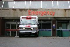 Entrada de la sala de urgencias Fotos de archivo