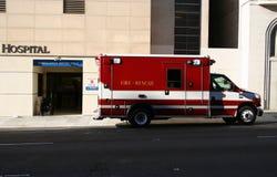 Entrada de la sala de urgencias Fotografía de archivo