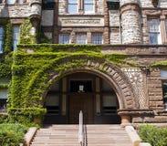 Entrada de la universidad Fotos de archivo