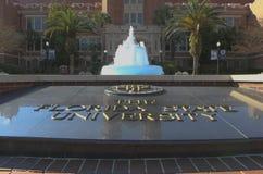 Entrada de la universidad de estado de la Florida Fotos de archivo libres de regalías