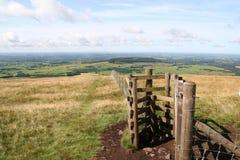 Entrada de Lancashire Fotografia de Stock Royalty Free