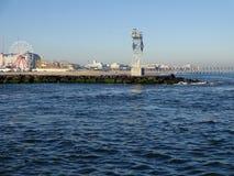 Entrada de Maryland de la ciudad del océano imagenes de archivo