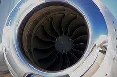 Entrada de motor do jato - Avalon Airshow Fotos de Stock