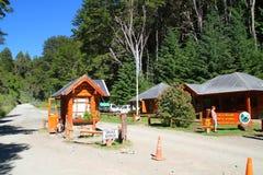 Entrada de Nahuel Huapi Park - Bariloche - la Argentina Fotos de archivo libres de regalías