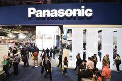 Entrada de Panasonic en CES 2016 Imágenes de archivo libres de regalías