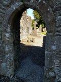 Entrada de piedra Fotos de archivo