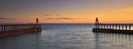 Entrada de porto Foto de Stock Royalty Free