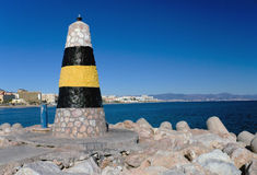 Entrada de puerto Benalmadena, España Foto de archivo libre de regalías