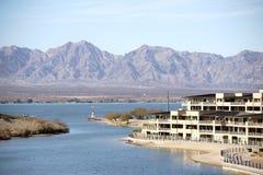 Entrada de puerto Lake Havasu Imagen de archivo