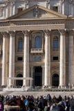 Entrada de St Peter (Cidade Estado do Vaticano, Roma - Itália) imagem de stock