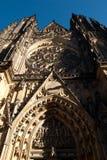 Entrada de St Vitus Cathedral Fotografía de archivo libre de regalías