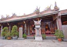 Entrada de Taiwán del templo Foto de archivo libre de regalías