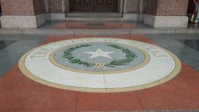 Entrada de Texas State Capitol Imágenes de archivo libres de regalías