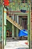 entrada de uma casa Imagem de Stock Royalty Free