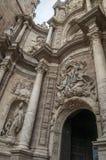 A entrada de uma igreja Imagem de Stock