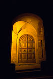 Entrada de un monasterio antiguo, San Luca - Bolonia foto de archivo libre de regalías