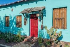 Entrada de Viejo del barrio hispano Fotos de archivo libres de regalías
