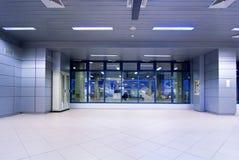 Entrada del aeropuerto fotos de archivo