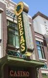 Entrada del casino de O'Sheas en Las Vegas Foto de archivo libre de regalías