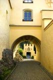 Entrada del castillo Imagen de archivo