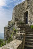 Entrada del castillo Imágenes de archivo libres de regalías