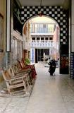 Entrada del hotel de Matzatland Fotografía de archivo libre de regalías