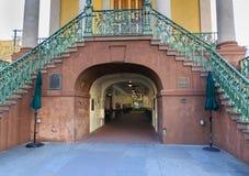 Entrada del mercado de la ciudad del SC de Charleston Fotografía de archivo