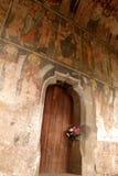 Entrada del monasterio Imagenes de archivo