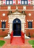 Entrada del museo Imagen de archivo libre de regalías