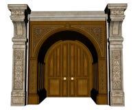 Entrada del palacio - 3D rinden libre illustration