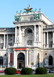 Entrada del palacio de Hofburg en Viena, Austria Foto de archivo libre de regalías