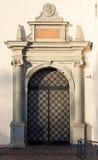 Entrada del palacio de los duques magníficos Imágenes de archivo libres de regalías