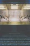 Entrada del subterráneo Fotografía de archivo