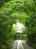 Entrada del templo Imagenes de archivo