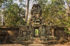 Entrada del templo Fotos de archivo libres de regalías
