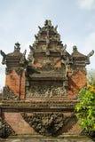 Entrada del templo de Bali Foto de archivo