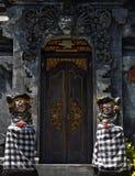 Entrada del templo de Bali Imagen de archivo
