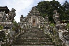 Entrada del templo en Bali, Indonesia de Pura Kehen Imagen de archivo