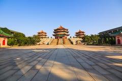 Entrada del templo del Taoist de Yuanxuan Imagen de archivo libre de regalías