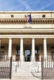 Entrada del tribunal de apelación en Aix en Provence Imagen de archivo