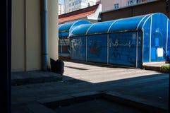 Entrada Desolated del paso de subterráneo Fotos de archivo libres de regalías