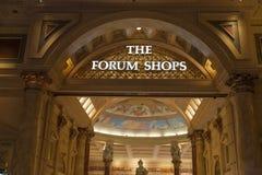 Entrada do Caesars Palace em Las Vegas, nanovolt o 26 de junho de 2013 Imagens de Stock