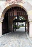 Entrada do castelo Fotografia de Stock