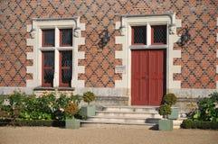 Entrada do castelo de Jallanges Imagem de Stock Royalty Free