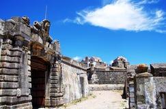 Entrada do forte militar velho, Elvas Foto de Stock