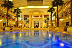 Entrada do hotel Imagens de Stock