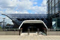 Entrada do lugar do Crossrail Imagem de Stock