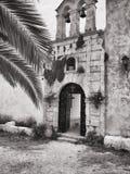 Entrada do monastério fotos de stock