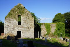 Entrada do mosteiro de Killydonnell fotos de stock