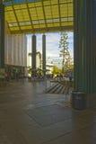 Entrada do museu de arte do condado de Los Angeles Fotos de Stock